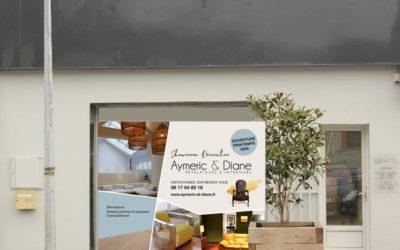 Ouverture d'un showroom Aymeric & Diane à Clisson